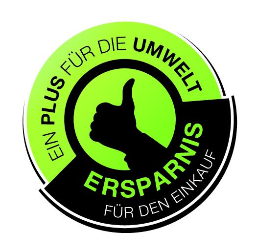Zertifikat Ein Plus für die Umwelt