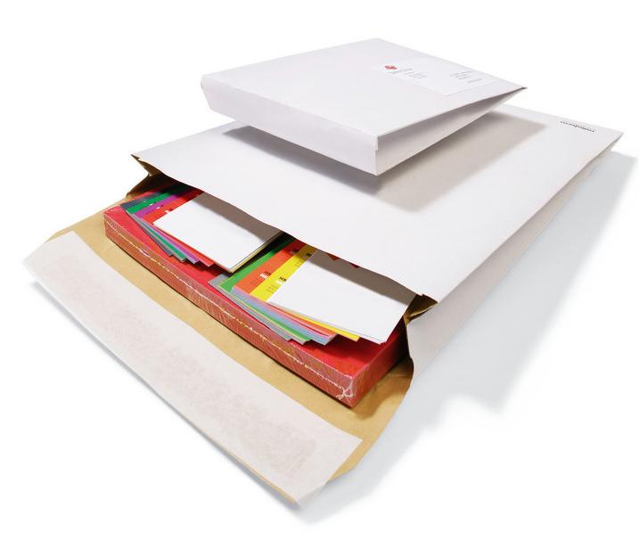Seitenfalten-versandtasche