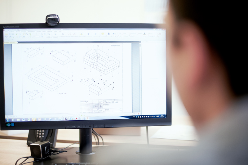 Formteil-Herstellung Planung